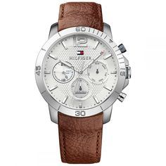 Tommy Hilfiger® AT Offizieller Onlineshop Tommy Hilfiger Watches, Herren Chronograph, Winter Sale, Accessories, Bracelet Cuir, Oui, Products, Fashion, Clocks