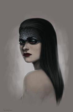 Crow by fdasuarez.deviantart.com on @DeviantArt