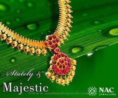 NAC Jewellers Marriage Necklace Designs, NAC Jewellers Wedding Necklace Designs, NAC Jewellers Bridal Necklace Designs
