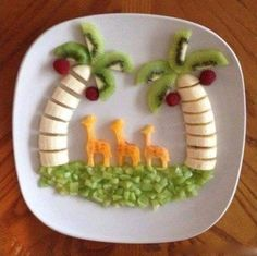 So cute and a great way to get kids to eat