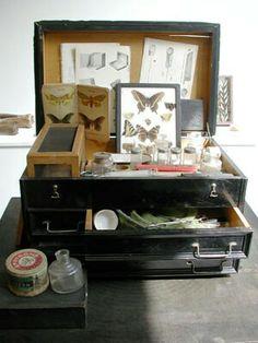 ::J. Morgan Puett boite de couture > boite de curiosités déco