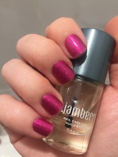 Jamberry Nails! Fierce Fuchsia (sparkle wraps are the best!). Shop these and hundreds more here: http://www.aubreymueller.jamberrynails.net/shop