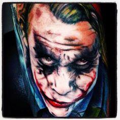 Amazing Joker Tattoo!