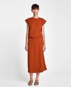 ZARA - WOMAN - TEXTURED DRESS