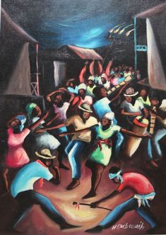 Dubreuil was best known for his paintings of Haitian life; Henry Dubreuil Henry Dubreuil was born in 1948 in Port-au-Prince, Haiti. He has exhibited in Haiti and the United State. Modernism, Haiti, Paintings, Culture, Oil, The Originals, Modern Architecture, Paint, Painting Art