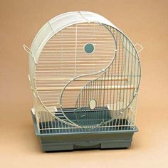"""""""awesome hamster cage"""" looks like a tiny bird cage to small but nice design"""