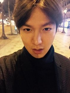 """Lee Min-ho shares his life from Paris, """"Just walking for the first time in ages"""" @ HanCinema :: The Korean Movie and Drama Database"""