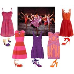 """Anita & The Shark Ladies - West Side Story"" by historychick on Polyvore"