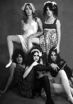 The GTOs, Zappa's Laurel Canyon all-girl band.