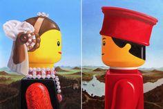 O artista italiano Stefano Bolcato tem o hábito de trabalhar com as imagens de LEGO. Em suas últimas criações, ele escolheu reimaginar pinturas icônicas, substituindo pessoas por figuras. De Marily…