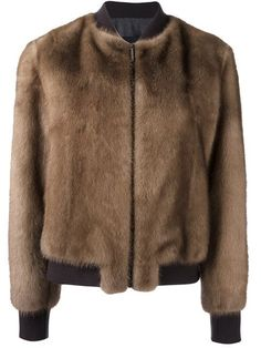 Blancha mink bomber jacket (=) made with bottom half of coat Fur Vest Outfits, Coats For Women, Jackets For Women, Concept Clothing, Mens Fur, Fur Fashion, Outerwear Women, Fur Jacket, Mink
