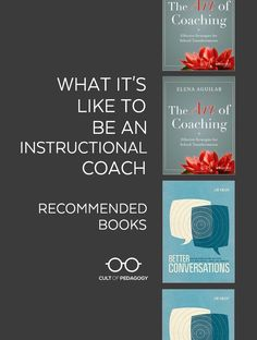 Lately I hear more and more people describing themselves as instructional coaches, so I thought it was time to take a closer look at the work they do. #CultofPedagogy