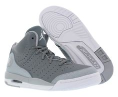 new concept f4d41 f4e5f Jordan Flight Tradition Bg Basketball Junior s Shoes Size 5.5, Cool  Grey White Wolf