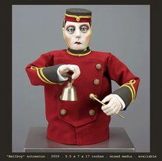 Chomick+Meder figurative art and automata