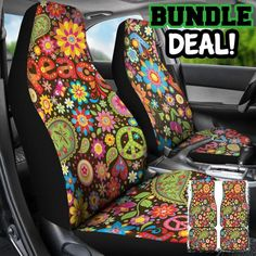 Peace Bundle Deal car mats car seat cover car accessory car accessories for cars Volkswagen, Car Accessories For Guys, Women's Accessories, Black Girls Rock, Jdm, Dodge, Hippie Car, Hippie Style, Hello Kitty