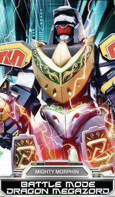 Power Rangers Dragon Megazord