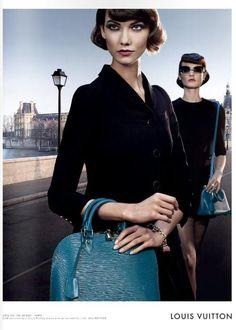 Karlie Kloss - Louis Vuitton S/S 2013 Chic on the Bridge Campaign