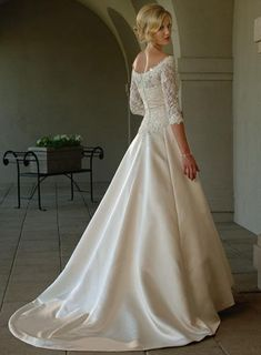 Vintage Wedding Dresses For Older Brides | think I love the second one and the second last one the best. Which ...