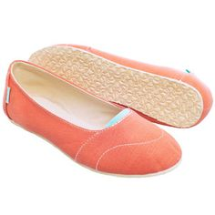 Ballet Flat Womens Coral, $49.95, now featured on Fab.