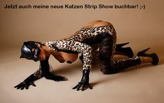 Katzen Strip Show :-D  Gogo SweetClubby / Alexa Trinity