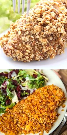Recipes Videos This baked almond chicken is one of our favorite recipes ever! It's healthy, easy to make, and a great alternative to chicken tenders! And best of all it works for paleo, keto, and Whole 30 meal plans! Healthy Dinner Recipes, Whole Food Recipes, Paleo Recipes Dinner Chicken, Paleo Chicken Casserole, Easy Paleo Meals, Whole 30 Easy Recipes, Chicken Recipes Dairy Free, Paleo Casserole Recipes, Whole 30 Recipes