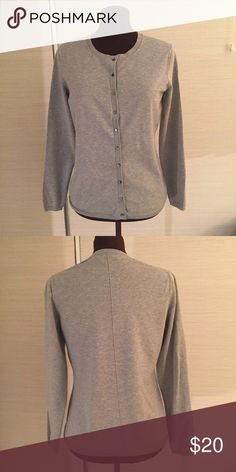 Cardigan by Banana Republic EXCELLENT used condition. MATERIALS: 39% silk, 32% Cotton, 25% Nylon, and 4% Lycra Spandex. MEASUREMENTS: Shoulder Width- 14 inches, Back Length - 24 inches, Chest Width Side Seam to Side Seam - 19 inches. Banana Republic Sweaters Cardigans