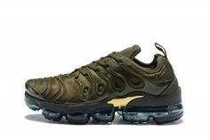 6517991afa New Style Nike Air Max Plus TN 2018 Olive Green Sneakers Men's Running Shoes