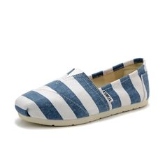 With High Quality And Unique Design, Toms Womens Stripe Shoes Blue White Are Your Favorite. Just Come To Our Toms Womens Stripe Shoes Blue White Online Store To Buy.