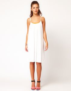 Vila Strappy Jersey Dress $17.40