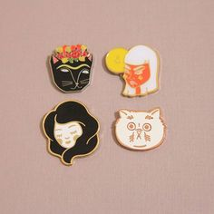 Face Pins & Pin Moods (Tap photo for pin designers)  #lovethepincommunity