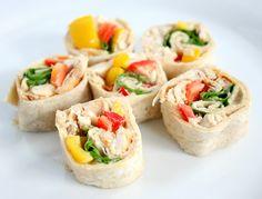 Hummus Pinwheels Recipe on Yummly
