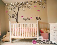 Baby Nursery Wall Decals  Tree Wall Decal  Tree by WallConsilia, $92.00