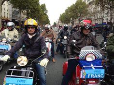 #VespaParade  #Vespa  #Paris #SandrineDalZotto