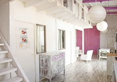 Casinha colorida: Home Tour: Make ideas Happen