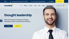 What makes a page feel trustworthy and professional while looking good at the same time? 7 Elements Every Business Consulting Website Needs