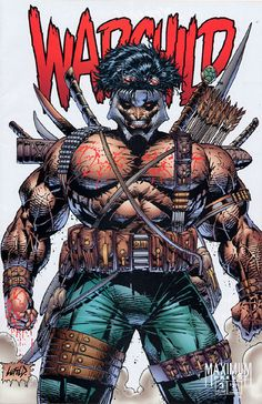 """""""Do you know what Warchild holds in all those pockets? WAR."""" 40 New Worst Rob Liefeld Drawings."""