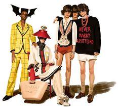 1052e99206d Ignasi Monreal for Gucci Gucci Ad