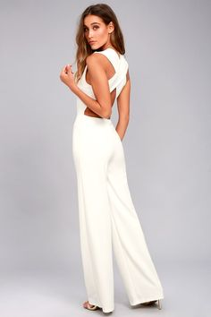 c71e4cbbed52 Thinking Out Loud White Backless Jumpsuit