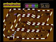 Super Off-Road by Tradewest for the Nintendo Entertainment System #NES - 4-player mode highlights by A & C Games