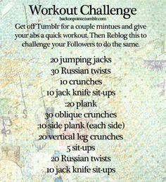 good ab workout