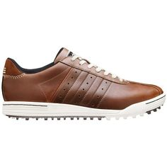 00431fcfb8e Adidas Men s  Adicross  Brown Leather Golf Shoes