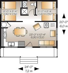 Great Escape 1492 - 2 Bedrooms and 1.5 Baths | The House Designers