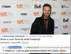 The 17 Best Answers Aaron Paul Gave During His Reddit AMA