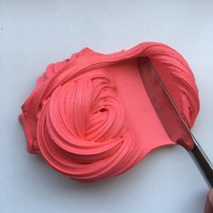 Strawberry Red Butter Slime
