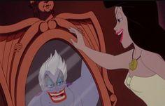 ¡La hermosa princesa era realmente una bruja del mar, por que el león no es como lo pinten¡
