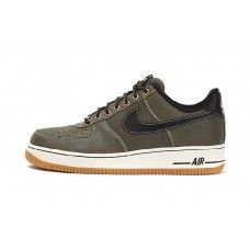Bast Nike Air Force 1 Herr Low Gra Guld Skor a40fd1c15d1d3