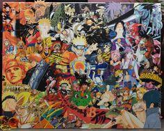 dragon ball Z DBZ naruto bleack manga creative leisure deco art