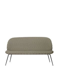GUBI // Beetle Sofa by GamFratesi Graphic Patterns, Design Show, Outdoor Furniture, Outdoor Decor, Beetle, Sofas, Ottoman, Objects, Living Room