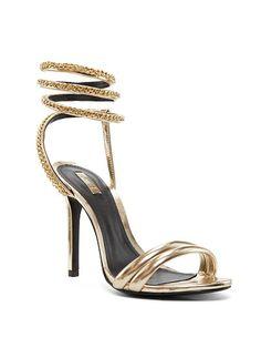 I need these!!! Victoria's Secret Monya Chain-detail Sandal Schutz