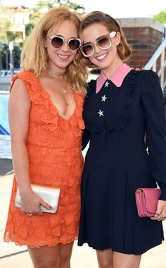 Juno Temple & Zoey Deutch from 2016 Venice Film Festival: Star Sightings Juno Temple, Zoey Deutch, Gamine Style, Celebs, Celebrities, Film Festival, Venice, My Girl, High Fashion